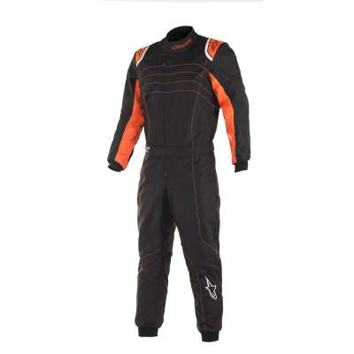 Alpinestars Kart Overall MX9 v2 Kinder, schwarz/ orange  2019